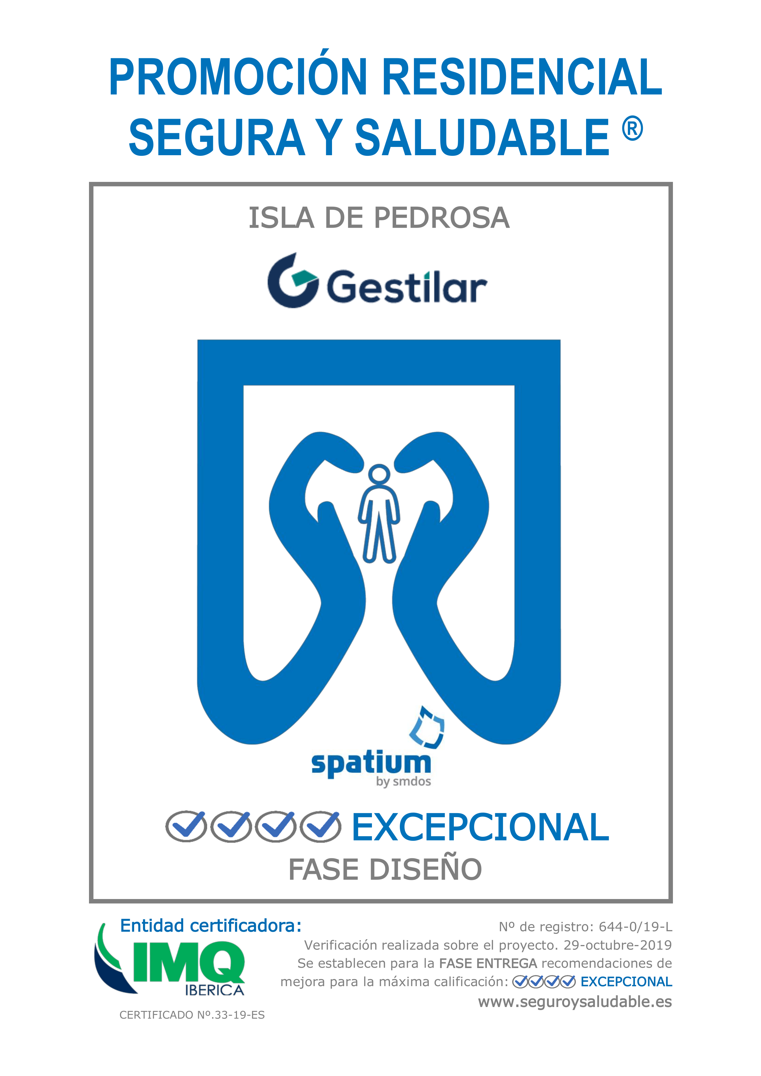 sello spatium isla de pedrosa