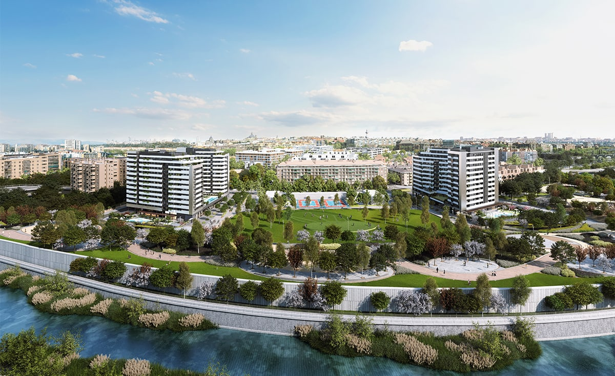 pisos d'obra nova a Arganzuela