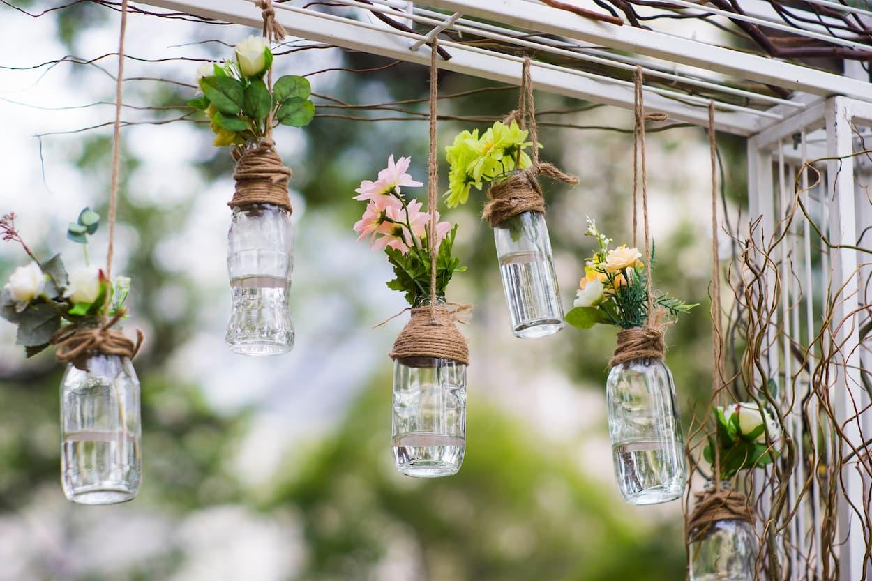 DIY decoracion con reciclaje