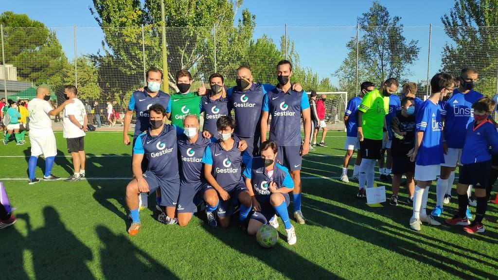 Gestilar en torneo solidario futbol 7 Down Madrid