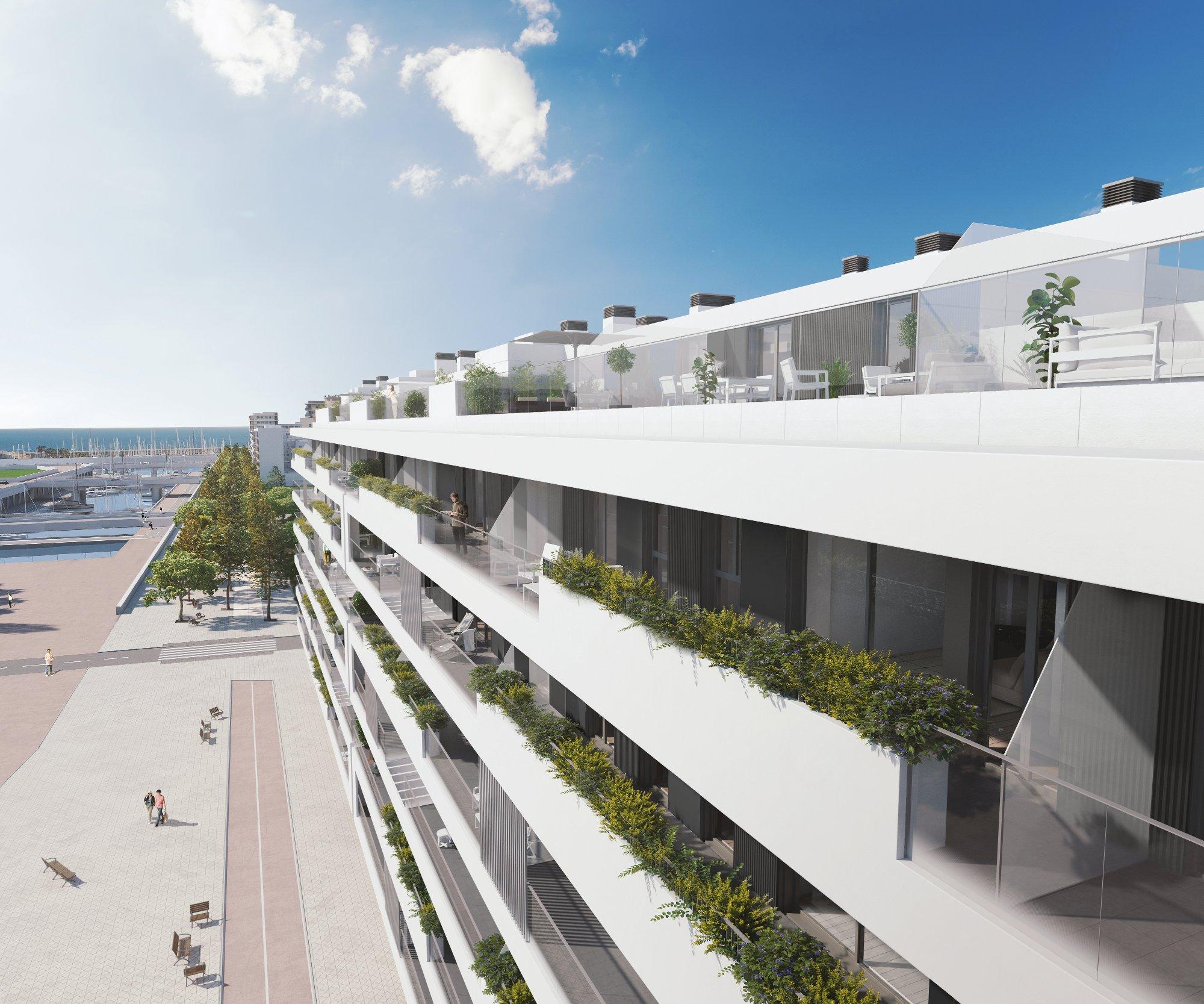 Vivir en un piso de obra nueva en Badalona es la mejor opción de futuro.