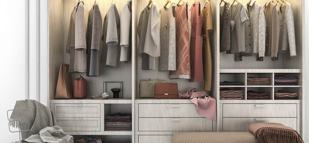 tips for organising your wardrobe