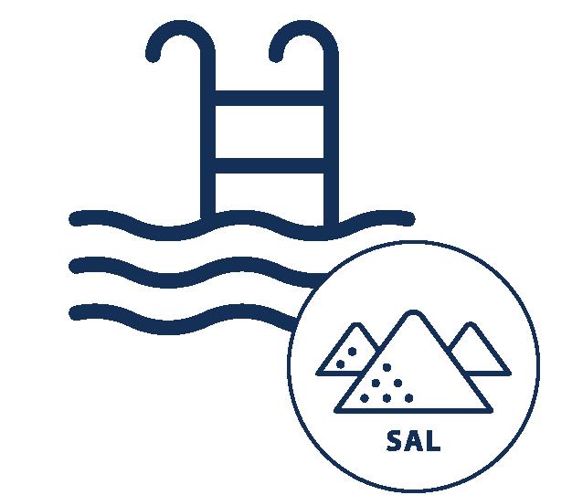 voramar piscina con cloración salina