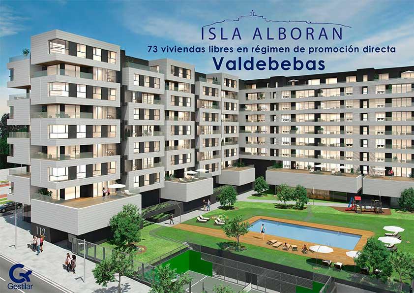 Isla Alborán - Viviendas en Valdebebas de Obra Nueva
