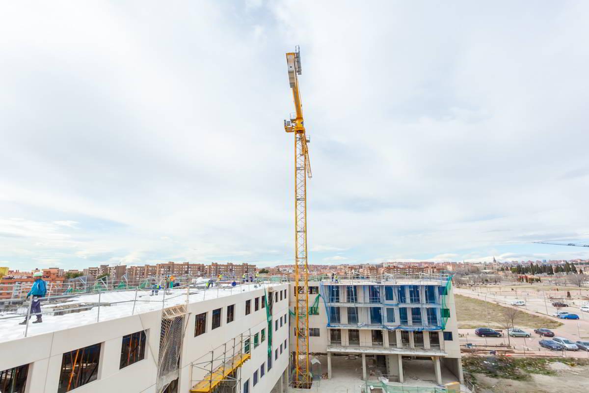 Isla de mouro de nouvelles maisons de construction for Obra nueva ensanche de vallecas