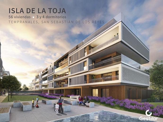Isla de la toja pisos obra nueva en tempranales san for Viviendas en san sebastian de los reyes