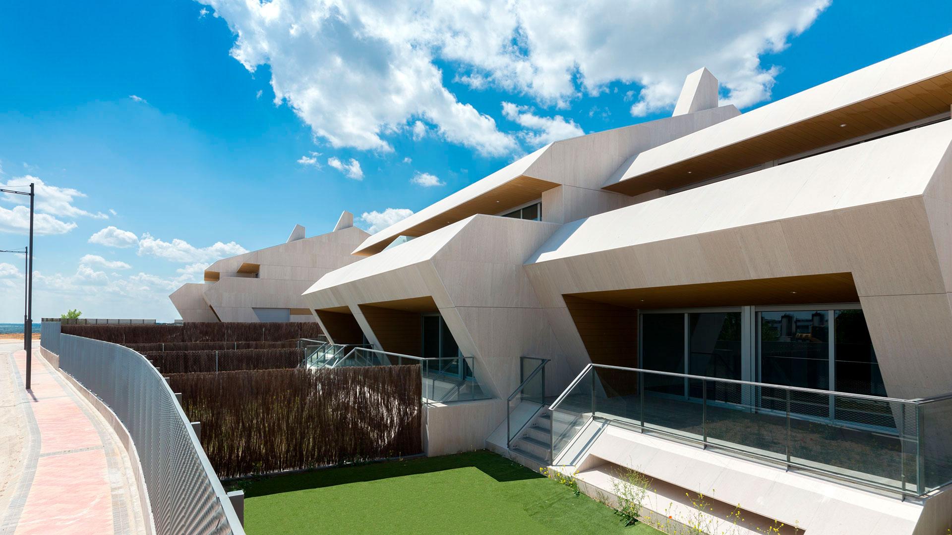 nouvelles maisons de construction à Boadilla