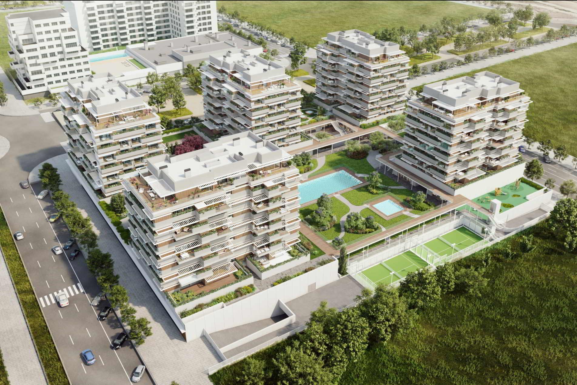 pisos obra nueva valdebebas madrid noroeste