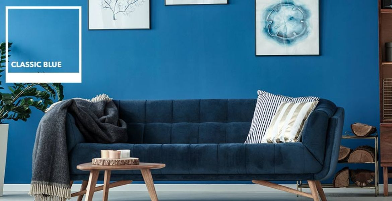 Classic Blue color Pantone 2020