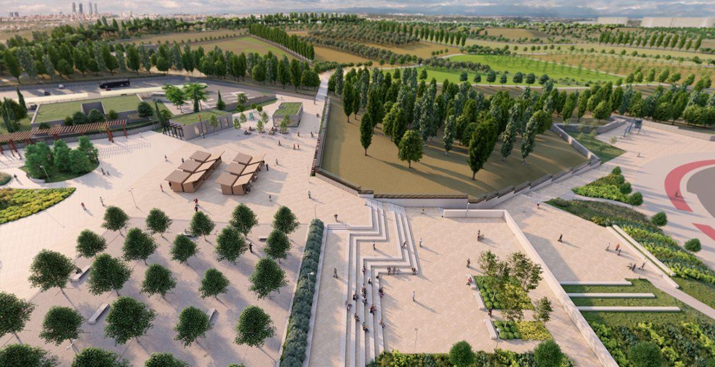 nuevo Parque Central de Valdebebas