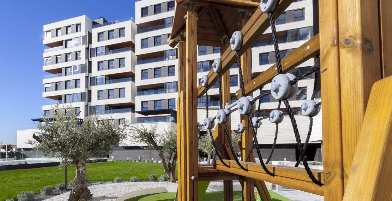 Zonas Comunes Viviendas de obra nueva en Valdebebas