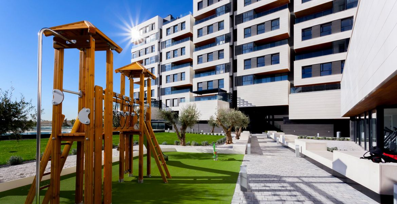 Exterior Viviendas de obra nueva en Valdebebas