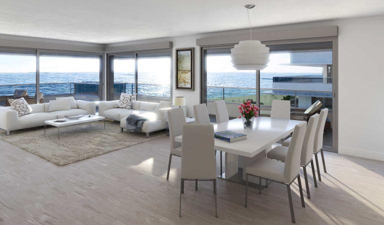 salon blau mar apartamentos playa de aro