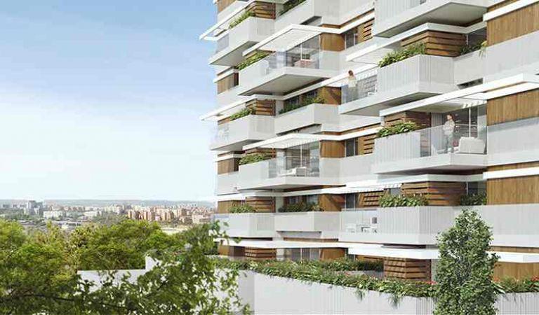 new-build home in Valdebebas