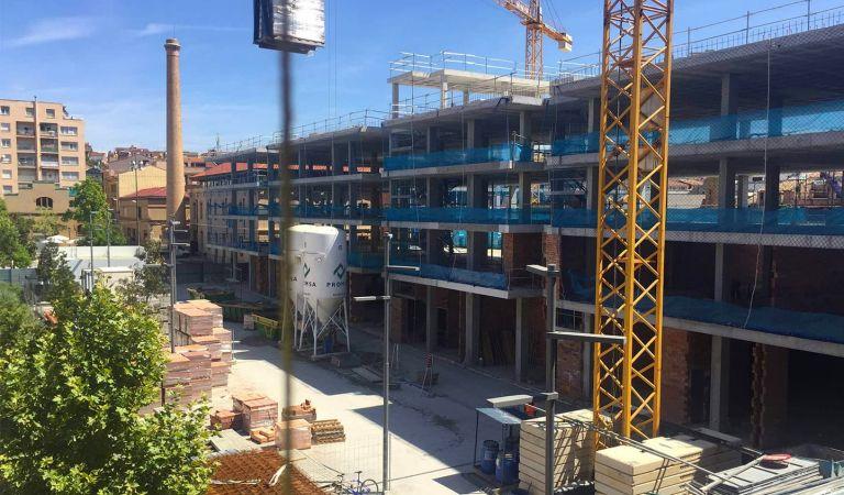 construcción cal font pisos en igualada