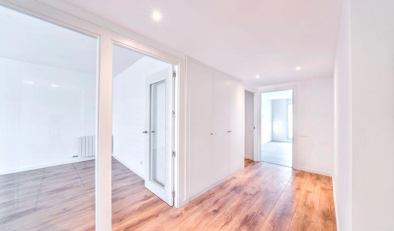interior piso obra nueva igualada