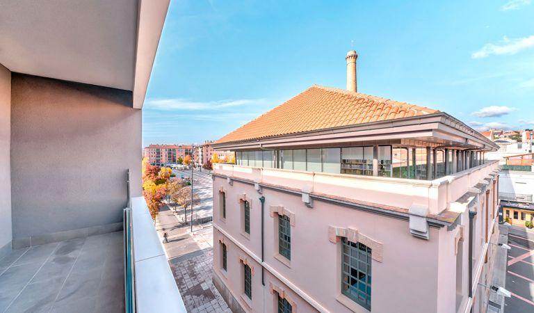 terraza pisos obra nueva igualada