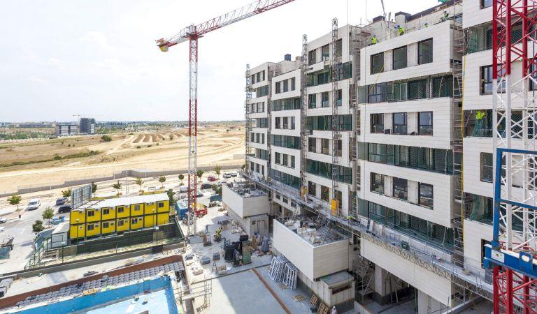 Estado Obras Viviendas de obra nueva en Valdebebas