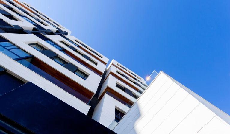 Exteriores pisos de obra nueva en Valdebebas Gestilar