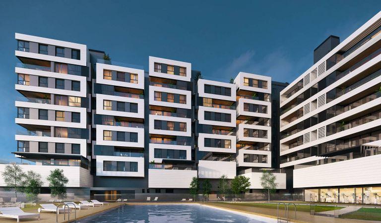 Exterior Viviendas de obra nueva en Valdebebas Madrid