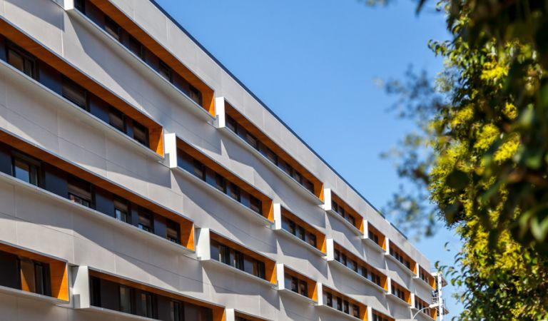 fachada viviendas obra nueva alcala de henares