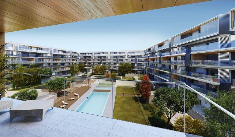 exterior viviendas obra nueva alcala henares