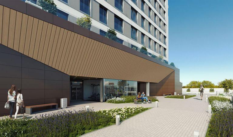 Zonas comunes de los pisos nuevos, Valdebebas