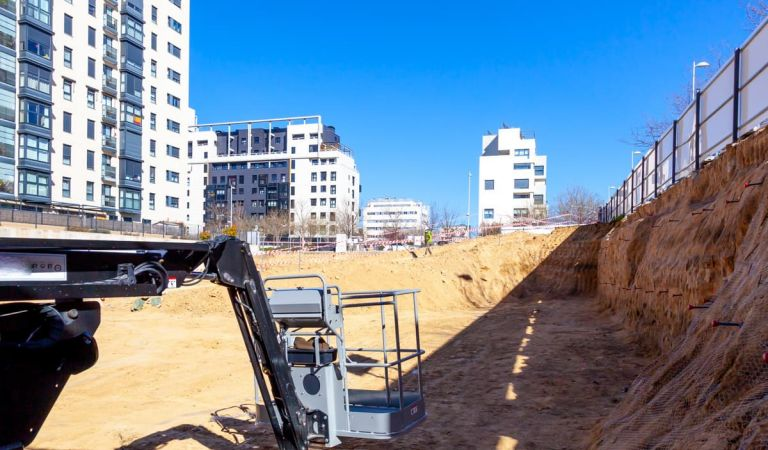 Avance pisos obra nueva Isla de Cortegada