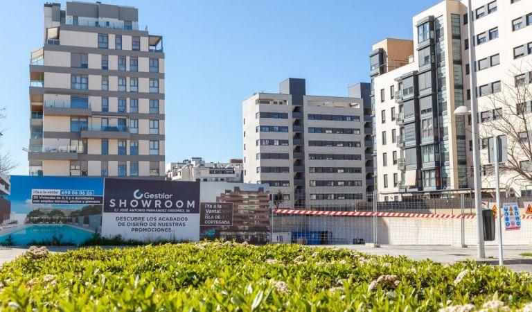 Empiezan las obras para los pisos nuevos de Isla de Cortegada