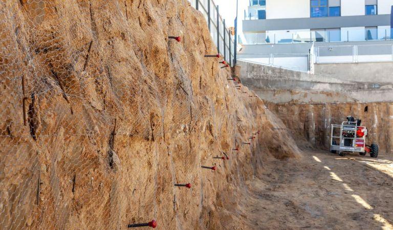 Obras empezadas en Valdebebas para Isla de Cortegada