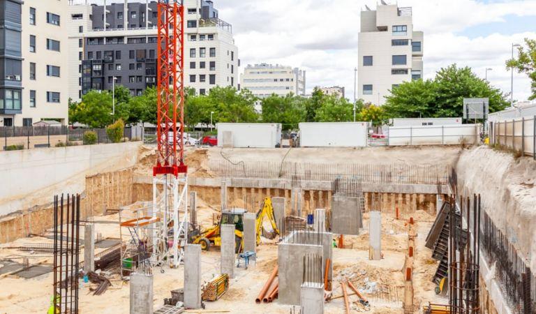 Avancec obras pisos en Valdebebas obra nueva