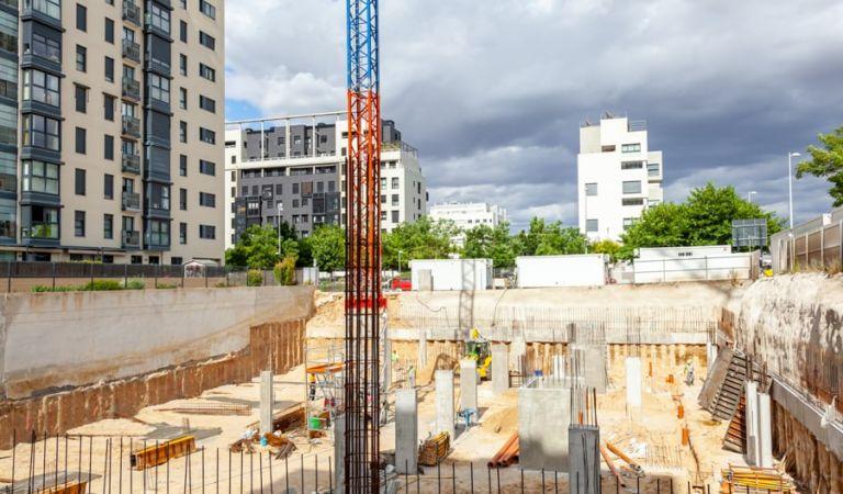 Avance obras pisos nuevos en Valdebebas
