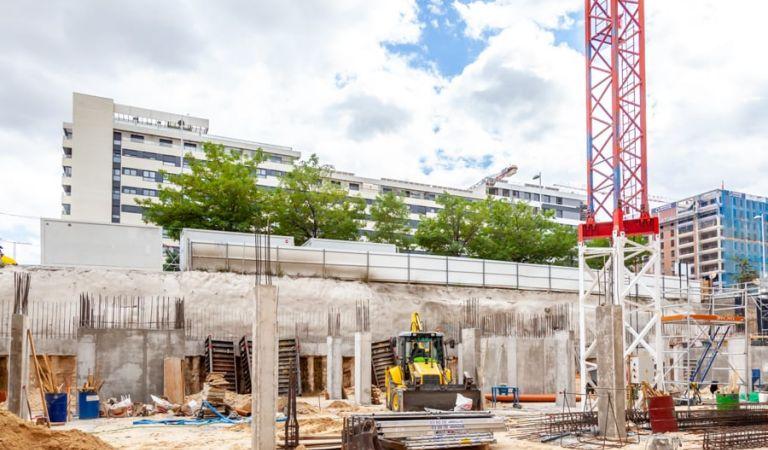 Estado obras pisos en Valdebebas obra nueva