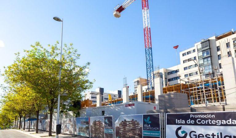 Estado obras Valdebebas pisos nuevos
