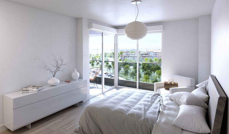 isla mouro dormitorio vivienda obra nueva