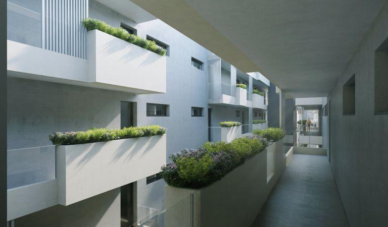pisos con terraza sabadell de obra nueva