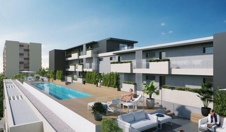 compra pisos con piscina sabadell centro