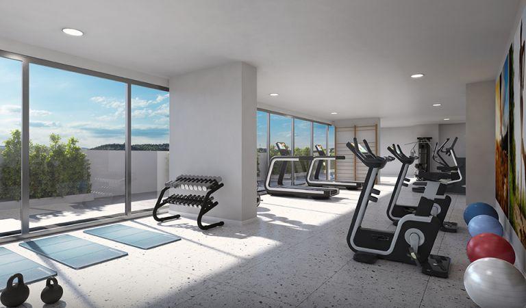 Apartamentos de obra nueva en Lisboa con gimnasio