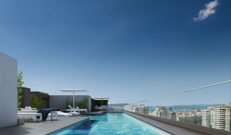 viviendas obra nueva en lisboa con piscina
