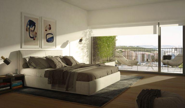 dormitorio apartamentos obra nueva lisboa