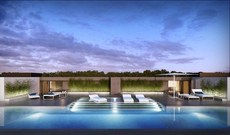 piscina viviendas obra nueva lisboa
