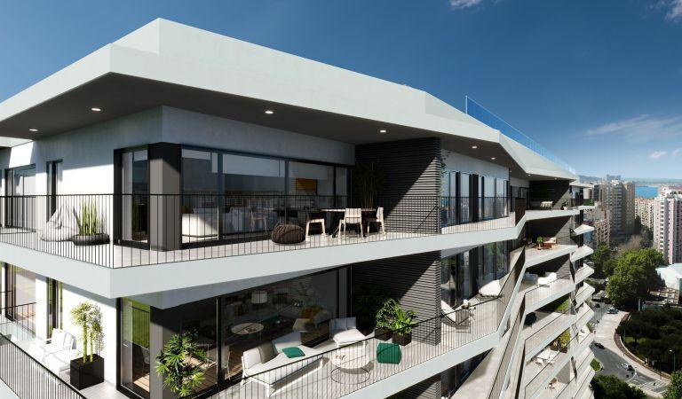 terrazas apartamentos obra nueva lisboa