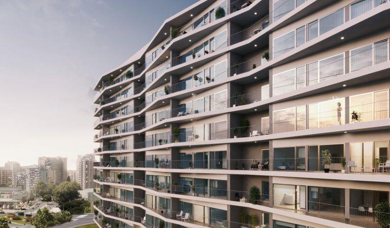 fachada viviendas obra nueva lisboa