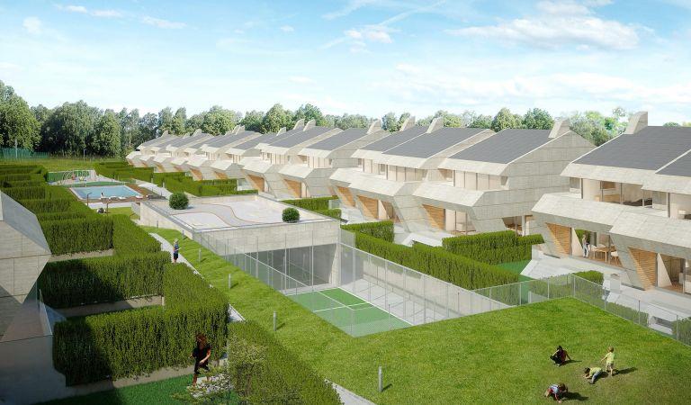 islas ons zonas verdes viviendas