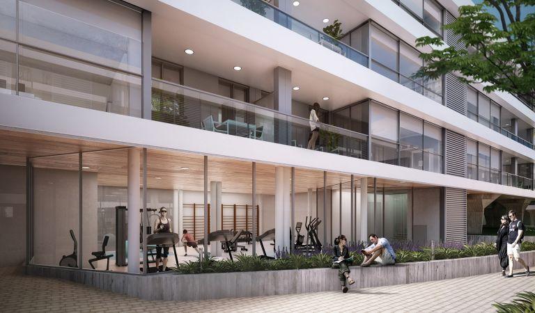 Gimnasio pisos obra nueva Oleiros