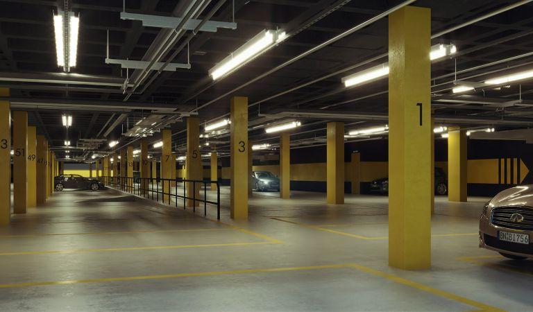 Garaje pisos obra nueva Oleiros