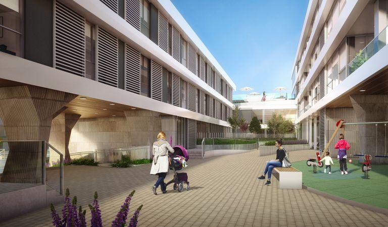urbanizacion pisos obra nueva Oleiros