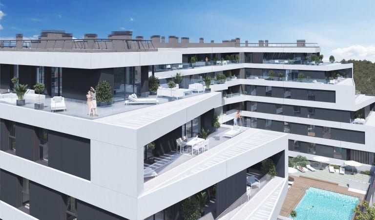 atico pisos obra nueva madrid norte