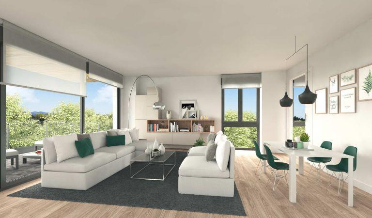Salón Isla Tambo, pisos obra nueva en las Rejas