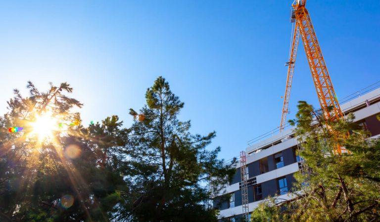 Estado obras pisos nuevas en Las Reajas